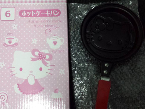日本 Hello Kitty pancake 煎餅鍋